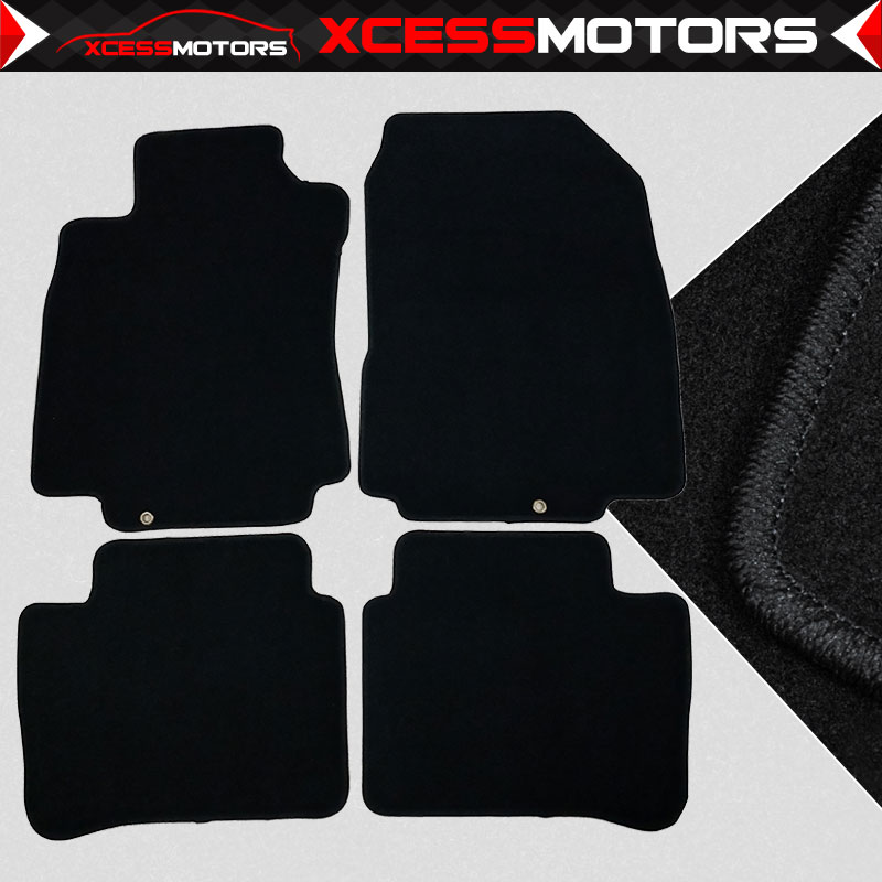 Coverking Custom Fit Front Floor Mats for Select Dodge St Regis Models Nylon Carpet Black