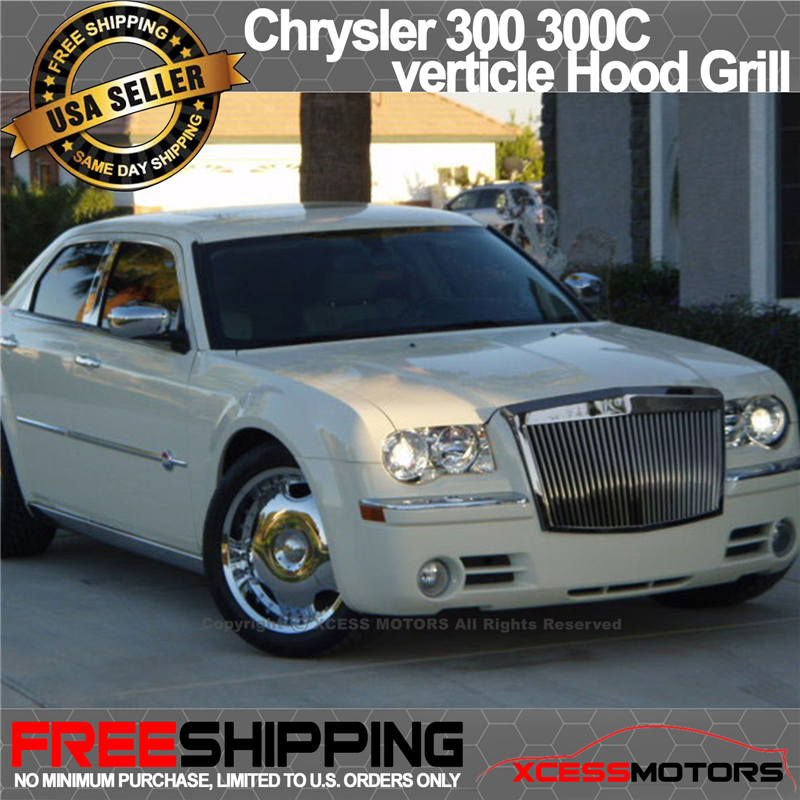 fit 05-10 chrysler 300 300c vertical rr rolls royce phantom front