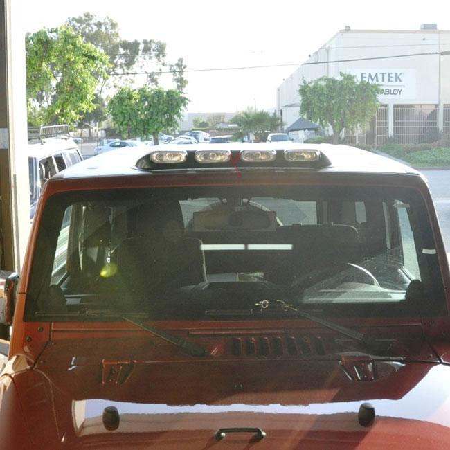 Fits UTV SUV Clear Lens Car Truck Roof Top Off Road Running Fog Light Bar  4X4 848524026706 | EBay