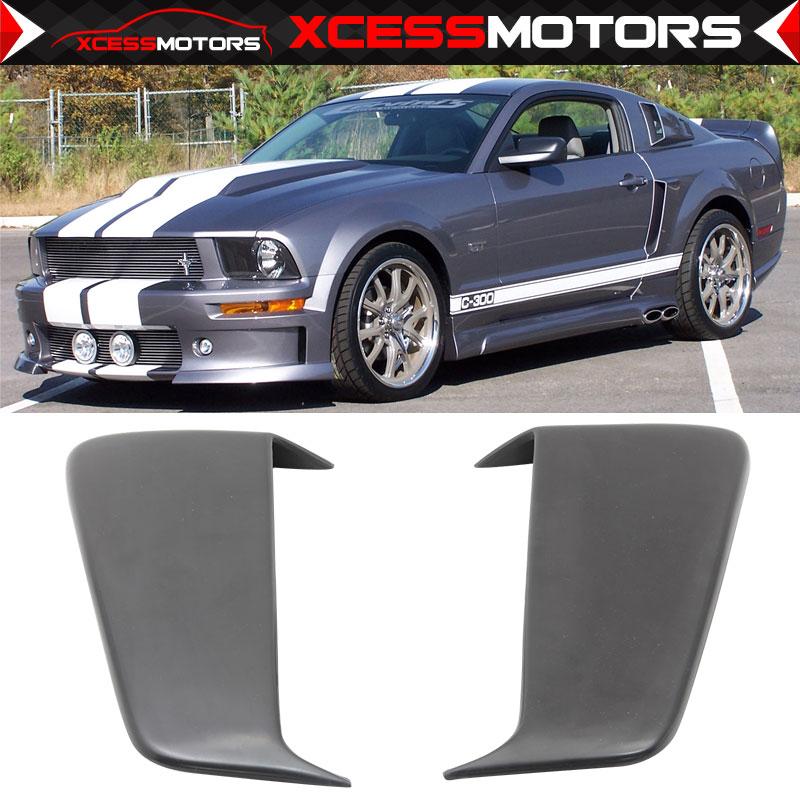 for Mustang 2005-2009 GT//V6 SpeedForm Hood Scoop Unpainted