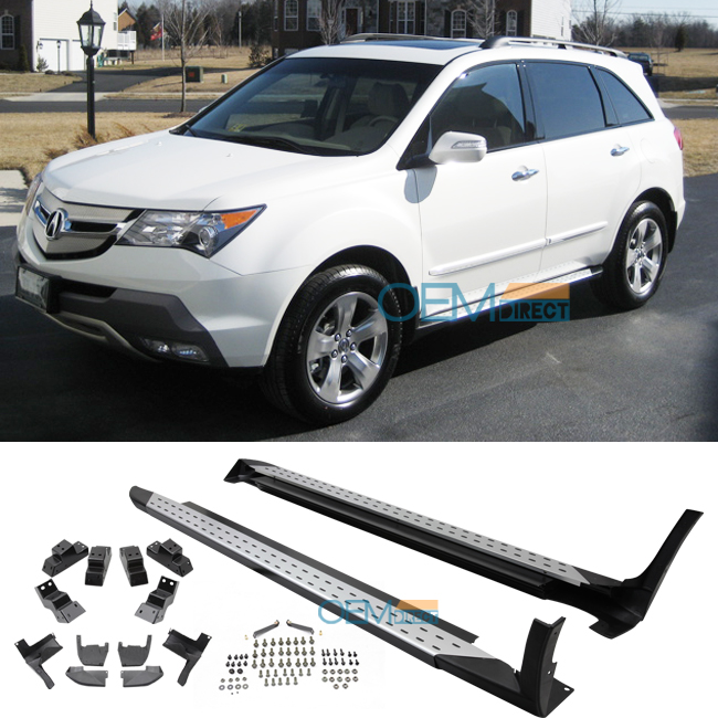 boards mdx for acura door fits eboard eb utility sport silver aluminum running