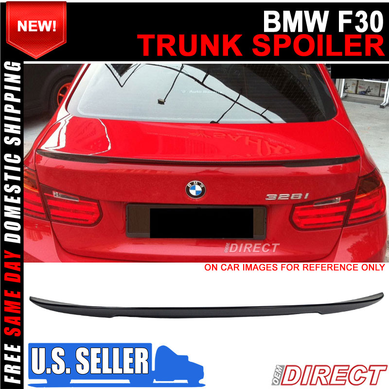 OEM Painted Color High Kick Painted Trunk Spoiler 12-18 F30 PERFORMANCE