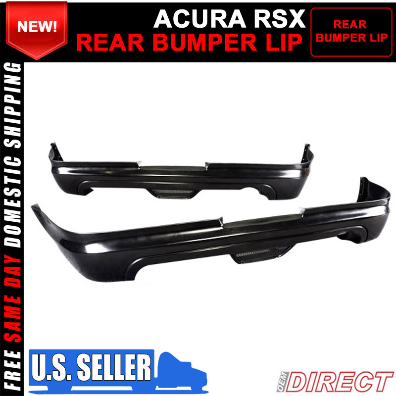 For 02-04 Acura RSX Coupe 2Dr Mugen Style PU Rear Bumper