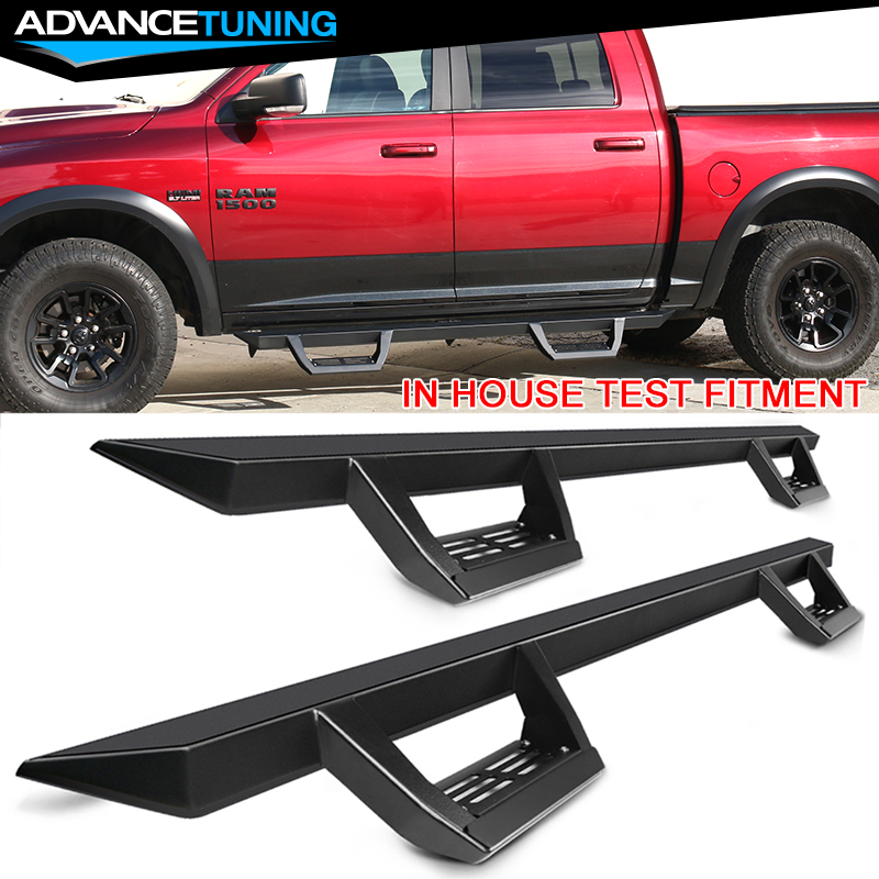 Fits 09-16 Dodge Ram Crew Cab 82inch OE Style Side Step Bar Running Board Chrome