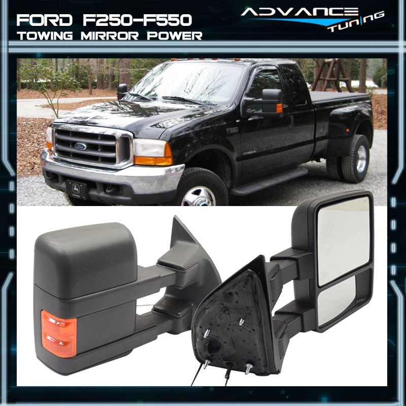 ford  side view blind spot tow towing mirror