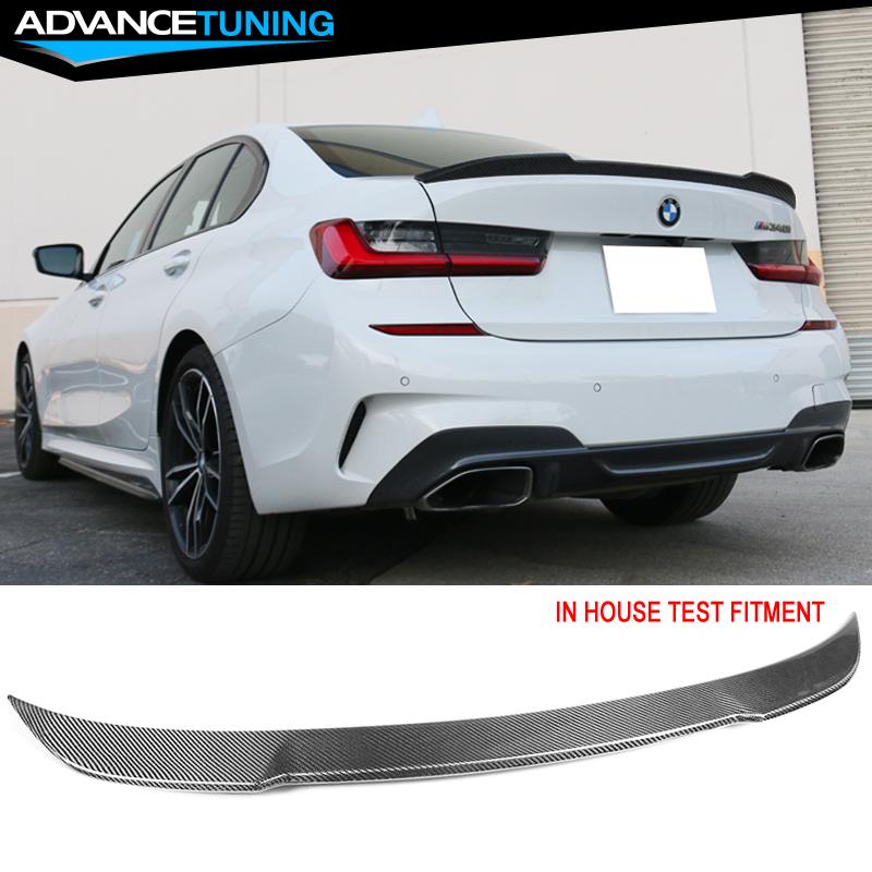 ABS Fits 19-20 BMW G20 Sedan 4-Door V Type Trunk Spoiler