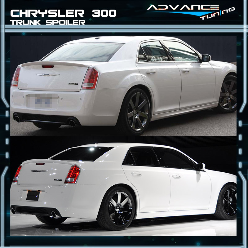 Fits 11-18 Chrysler 300 300C 300S SRT SRT8 Matte Black