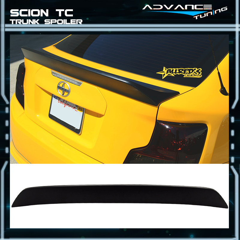 Fits 11-16 Scion TC RS Style Unpainted ABS Trunk Spoiler Wing