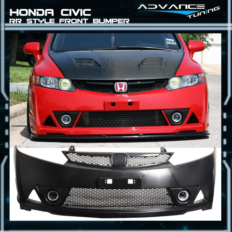 For 06 11 Honda Civic Mugen RR Style
