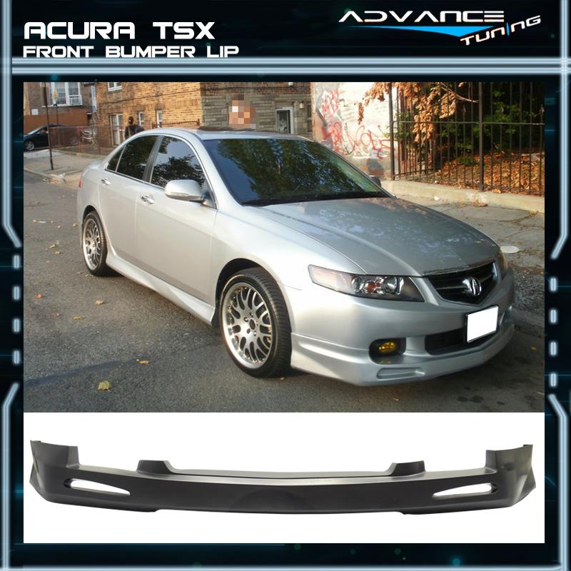04-05 Acura TSX Mugen Style Front Bumper Lip Chin Spoiler