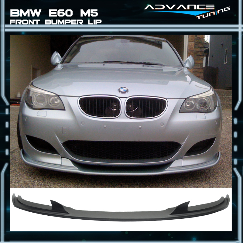 For 06-10 BMW E60 M5 Only H Style Front Bumper Lip Spoiler