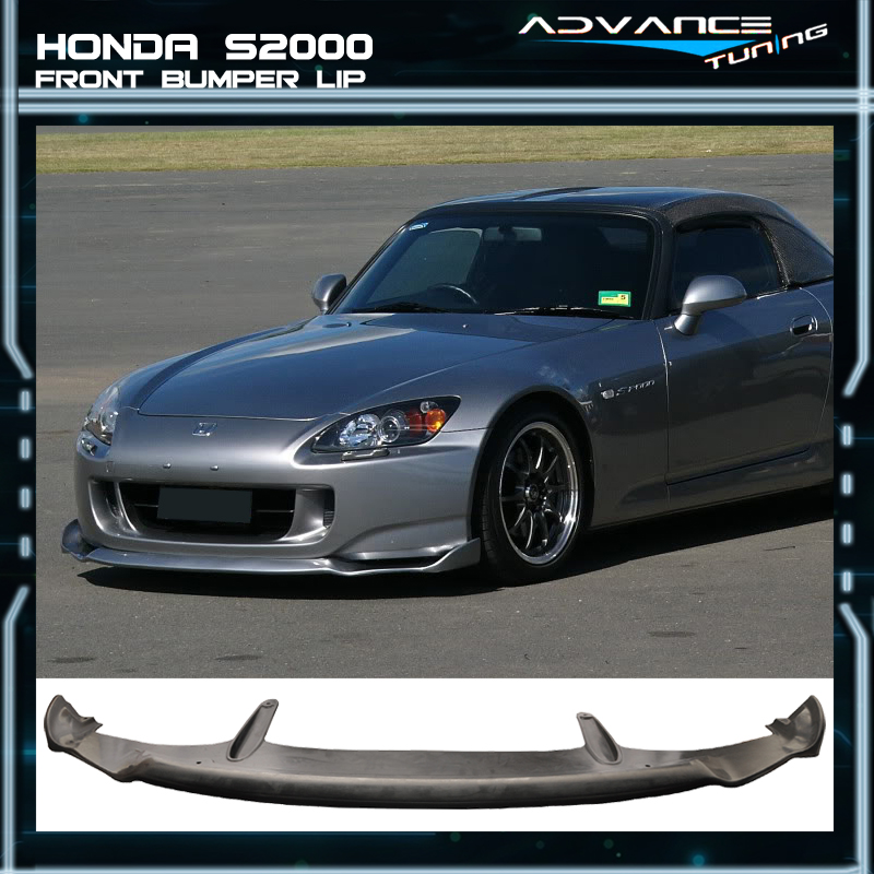 NEW AMS AMUSE Front Bumper Lip Urethane Plastic for 04 05 06 09 Honda S2000 AP2