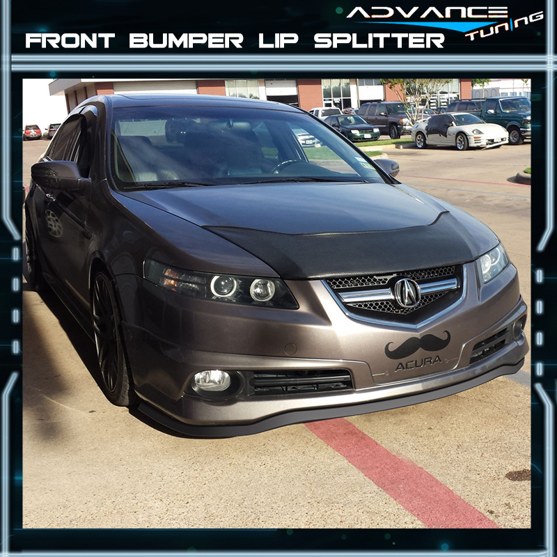 Inch For Acura Front Lip Splitter Body Spoiler Valance Chin EZ - 1999 acura tl front lip