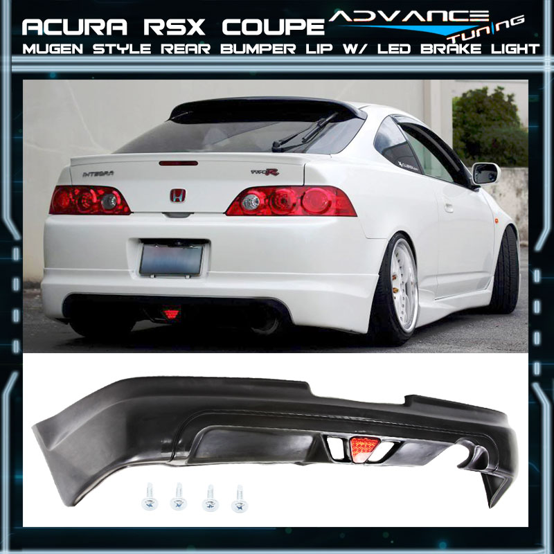 For 05-06 Acura RSX DC5 Type-S 2Dr Mugen PU Rear Bumper