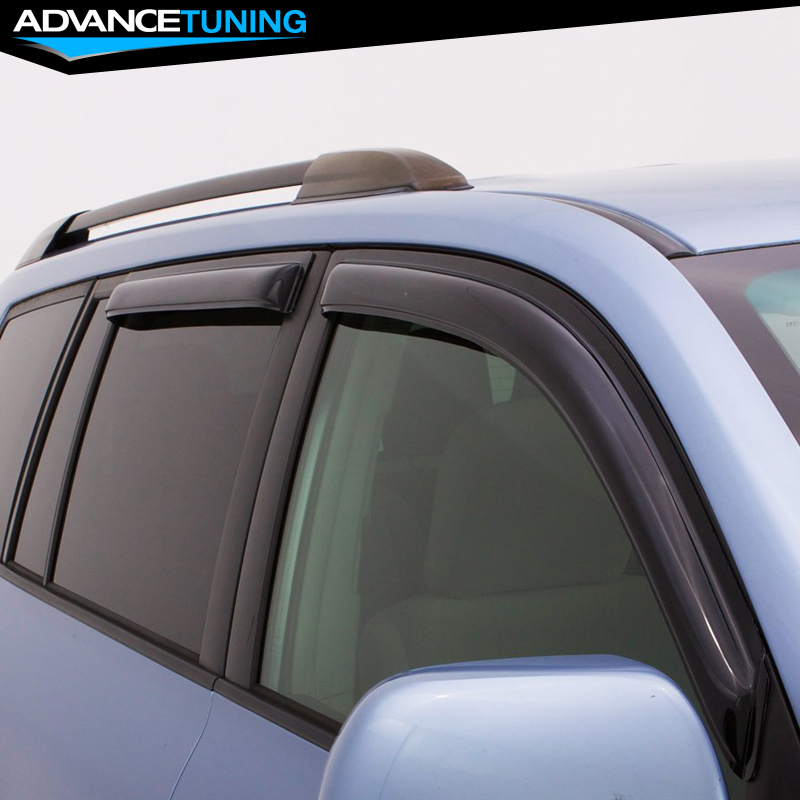 Fits 07-12 Acura RDX Acrylic Window Visors 4Pc
