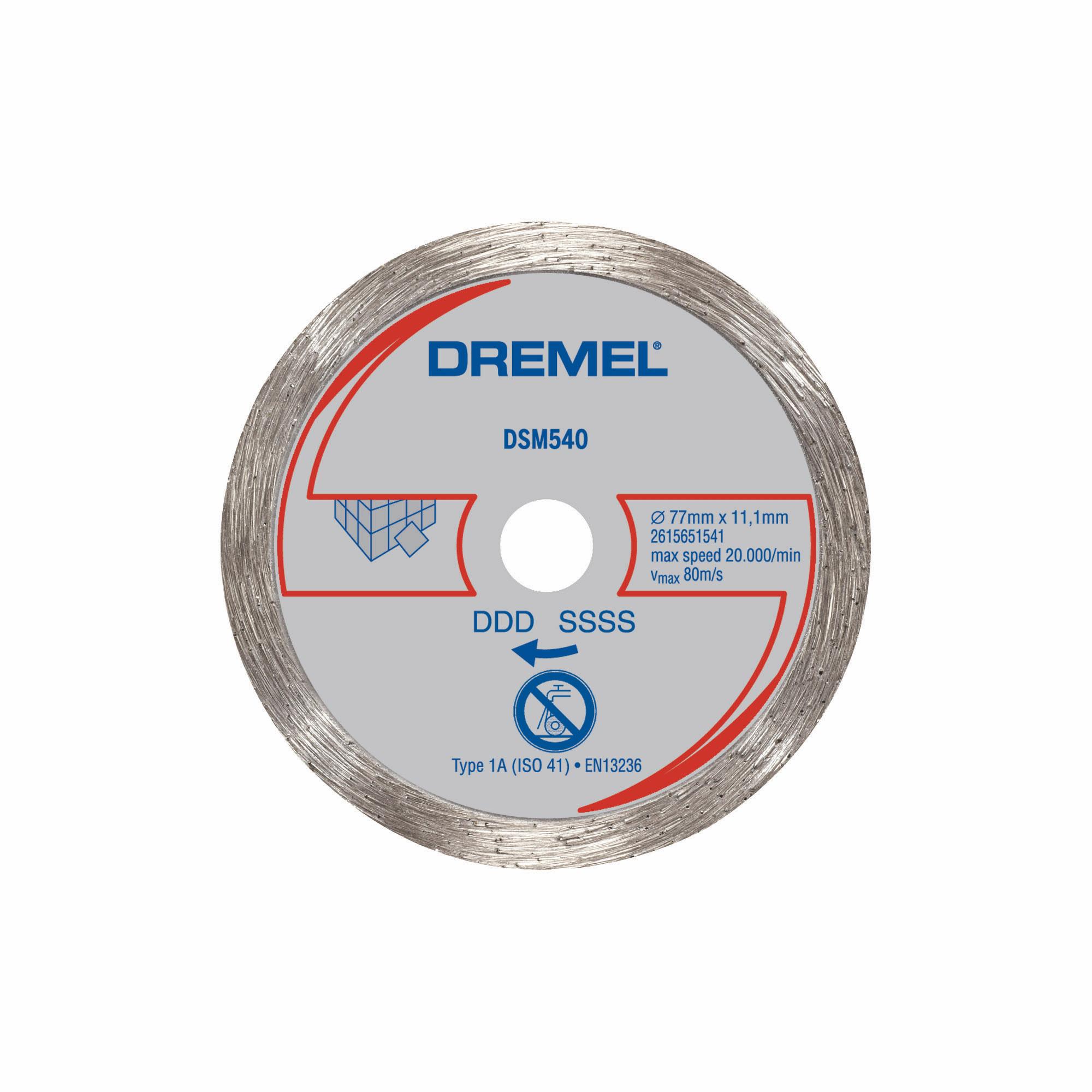 Dremel Sm540 3 Inch Heavy Duty Multi Purpose Tile Diamond