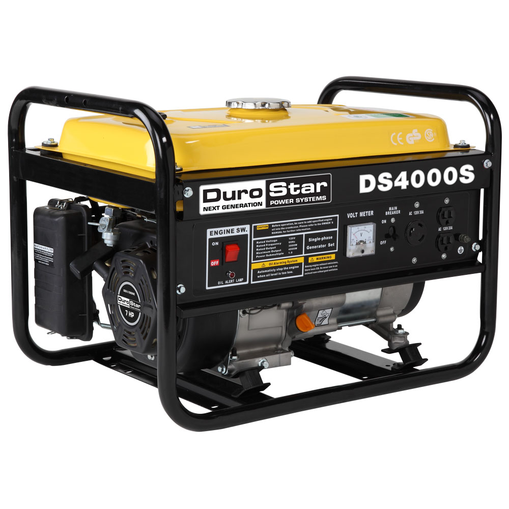 Durostar Ds4000s Gas Powered 4000 Watt Portable Generator Rv Wiring Diagram 220 Volt Twist Lock Camping Standby