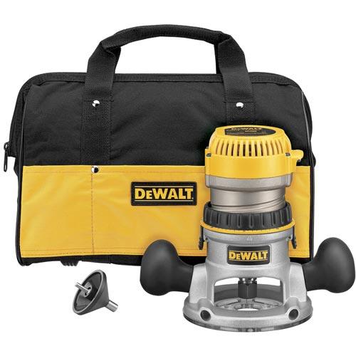 DeWALT DW616K 1-3 4 HP Fixed Base Woodworking Router Kit