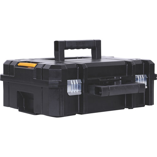DeWALT TSTAK II Flat Top Toolbox Storage Organizer – DWST17807