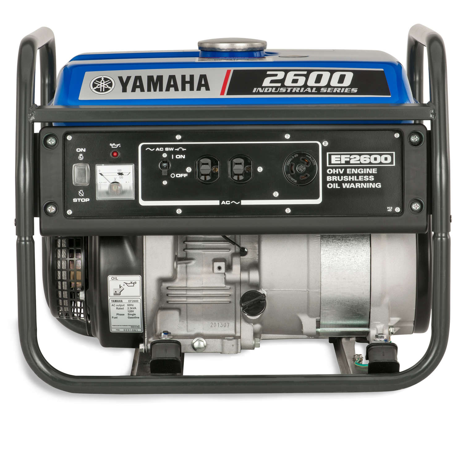 Yamaha EF2600 2 600 Watt Gas Powered Portable RV Home Backup Power