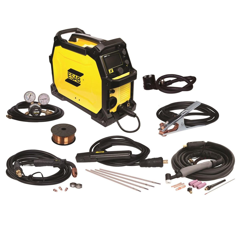 ESAB EMP215IC 120//230-Volt Dual Voltage Professional Grade MIG//TIG//Stick Welder