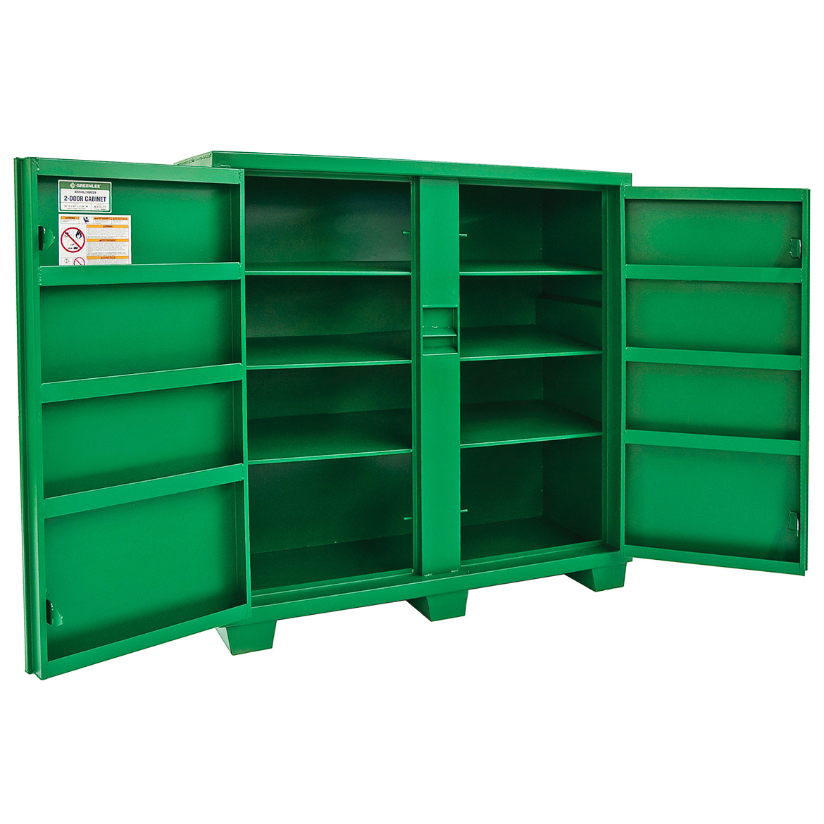 Details About Greenlee 5660l 56 X 60 X 24 Inch Heavy Duty Steel Storage Utility Cabinet