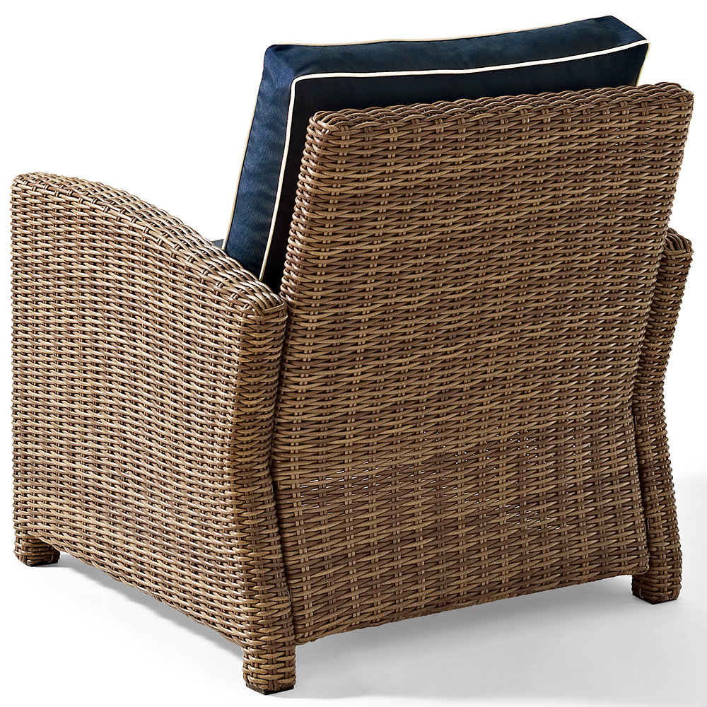 Crosley KO70023WB-NV Bradenton Rattan Style Outdoor Wicker ...