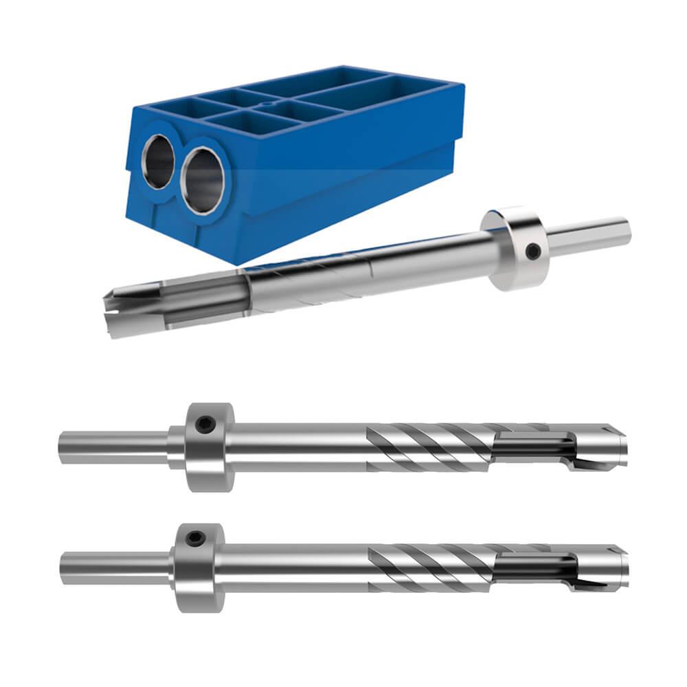Details about Kreg KPCS-BIT Hardened-Steel Custom Pocket-Hole Plug Cutter  and Bit Bundle Kit