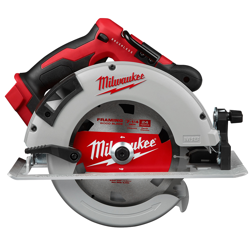 Milwaukee M18 2631-20 18-Volt 7-1/4-Inch Brushless Circular Saw - Bare Tool