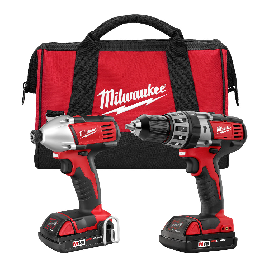 Milwaukee 2697-22CT M18 18-Volt Cordless Power Lithium-Ion 2-Tool Combo Kit