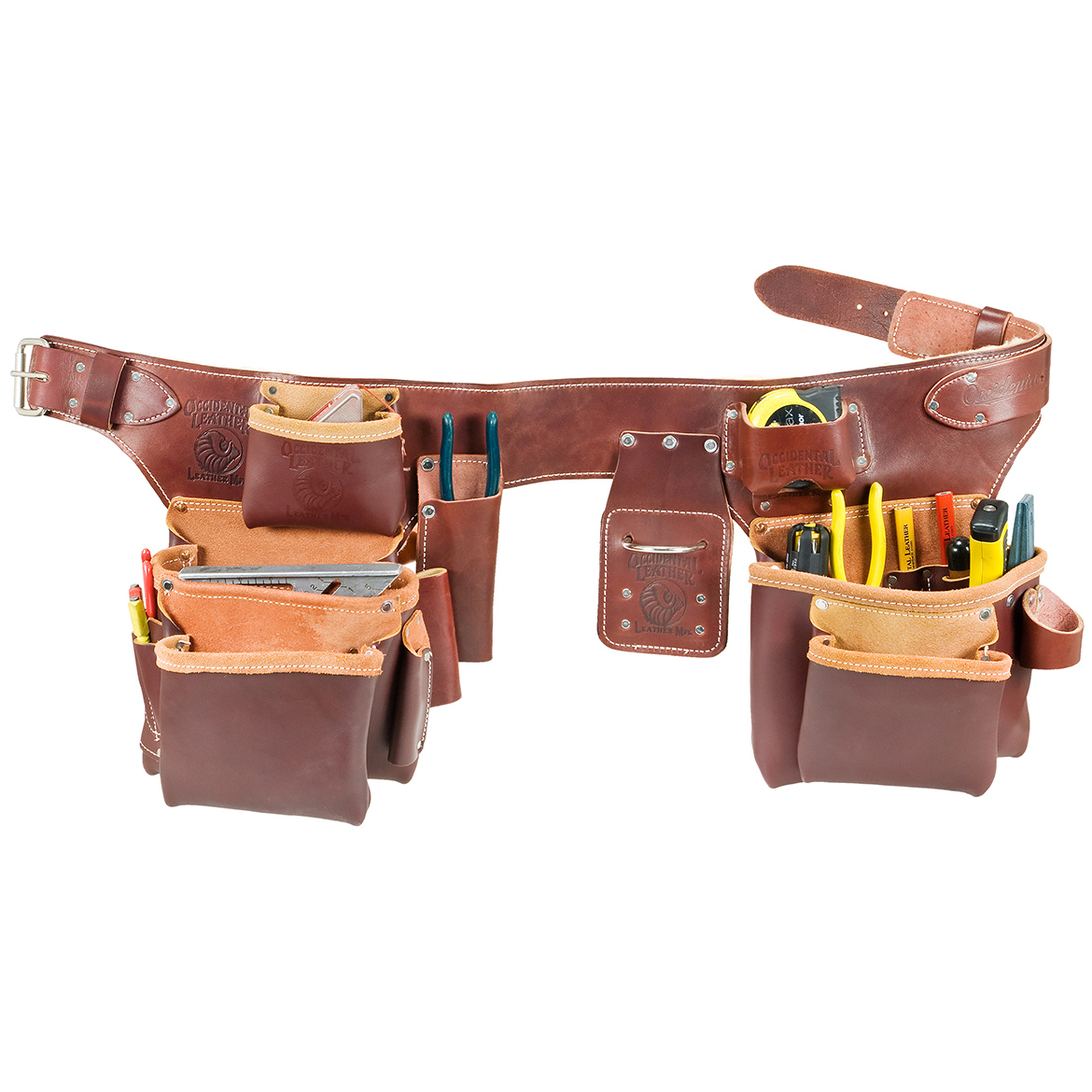 occidental leather 5191lg pro carpenter 5 bag assembly