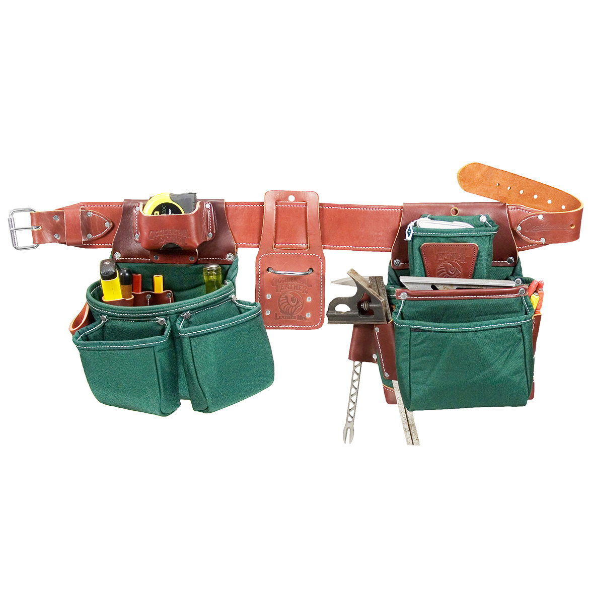 Occidental Leather 8080DBM OxyLights Pro Framer Framing Tool Bag ...