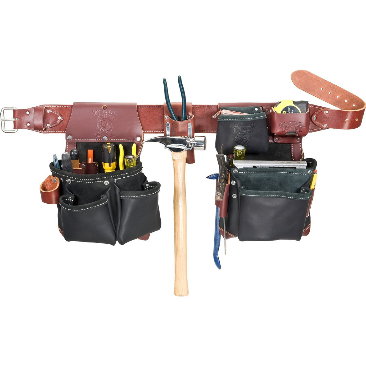 Occidental Leather B5625XL Builder Black Framer Framing Tool Bag ...