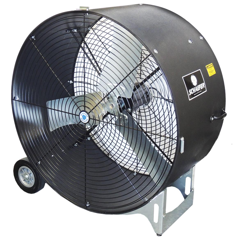 Details about Schaefer VKM36-B-O 115 Volt 1/2 HP 36-Inch Versa-Kool  Portable Drum Fan, Black