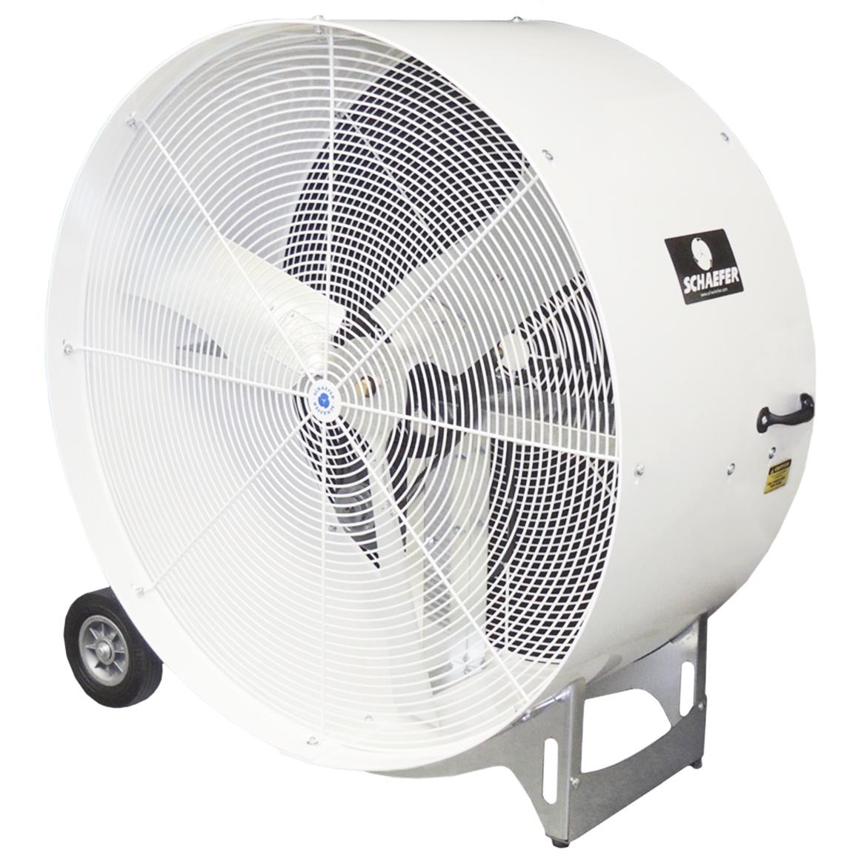 Details about Schaefer VKM42-2-O 115 Volt 1/2 HP 42-Inch Versa-Kool  Portable Drum Fan, Gray