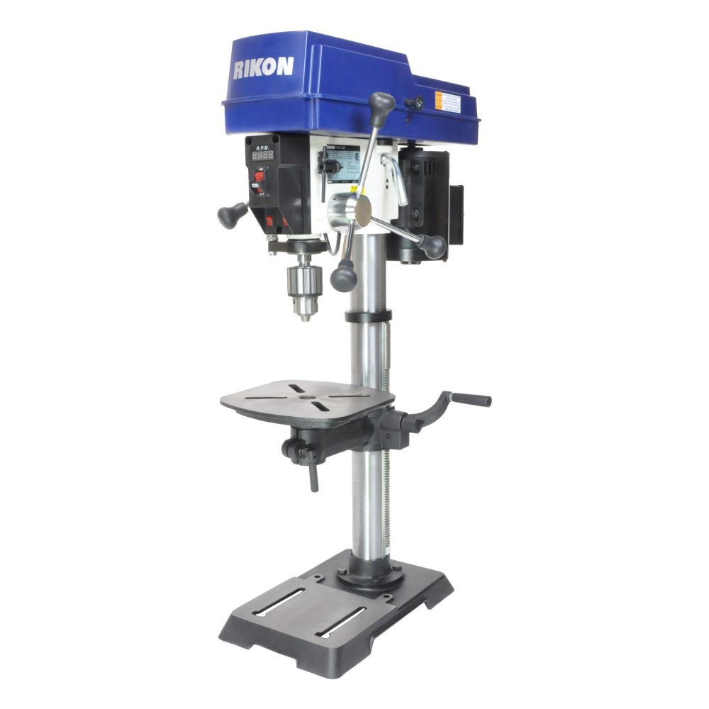 Details about Rikon 30-212VS 12-Inch 3/4 HP Corded Variable Speed Benchtop  Drill Press