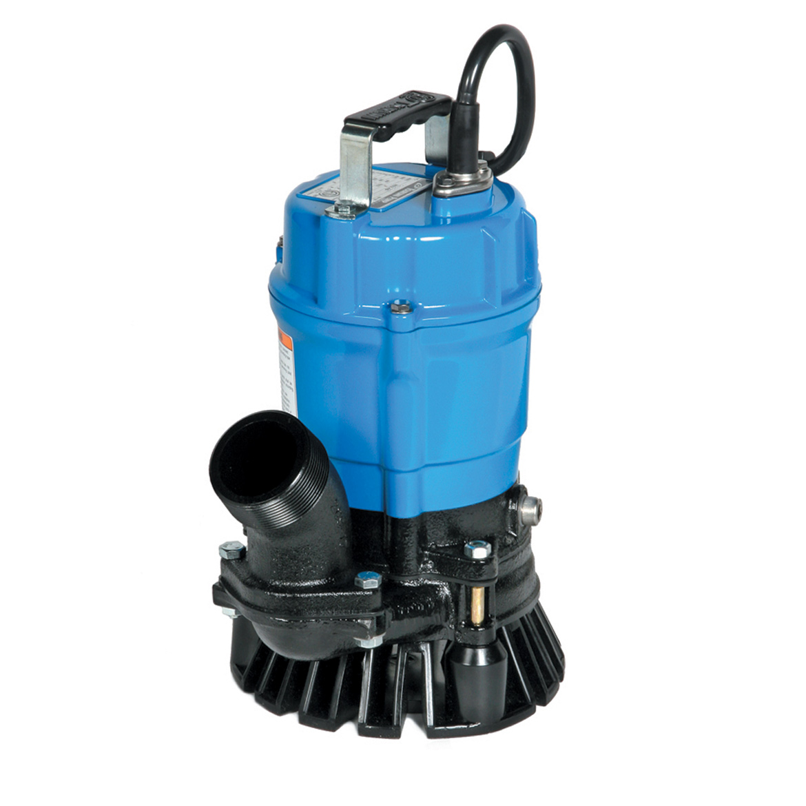 Details about Tsurumi HS2 4S-62 2-Inch 1/2 HP Semi-Vortex Submersible Trash  Pump with Agitator