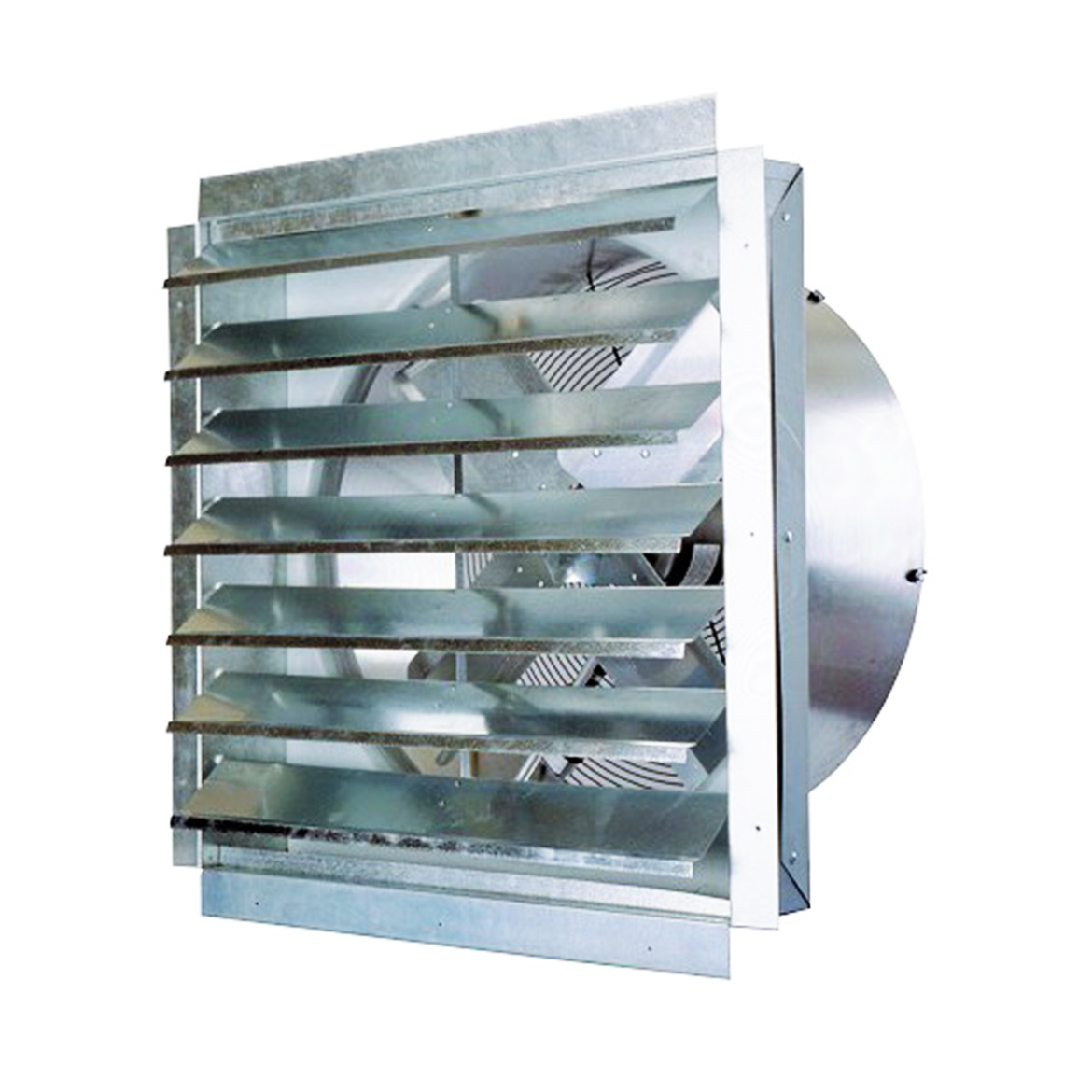 Details about Ventamatic IF30 30-Inch 5,500-CFM Heavy Duty Industrial  Exhaust Fan with Shutter