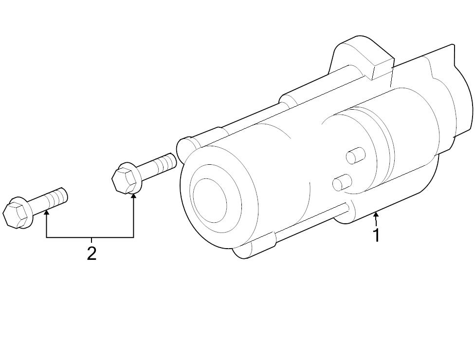 Brand New Genuine Gm Oem Starter Motor 89017760