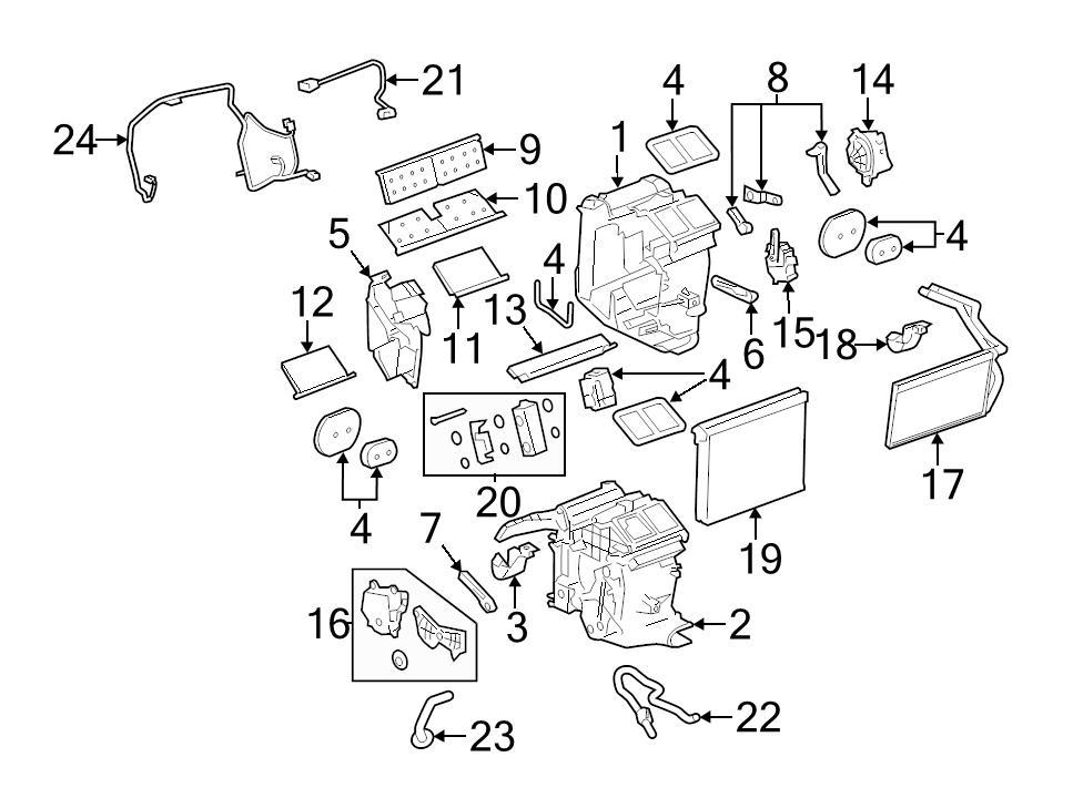 Identifed In Schematic If Applicable: 2001 Dodge Ram Heater Blend Door Diagram At Sergidarder.com
