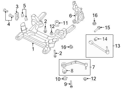 Brand New Genuine Gm Oem Suspension Control Arm Bolt 92139183