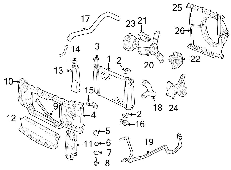 brand new genuine gm oem radiator cap 10409635 ebay L79 327 Corvette Engine identifed in schematic if applicable 3