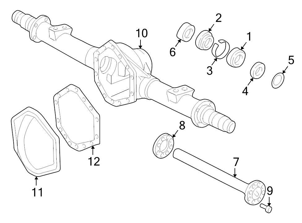 Brand New Genuine Gm Oem Axle Shaft Lock C Clip 15702309