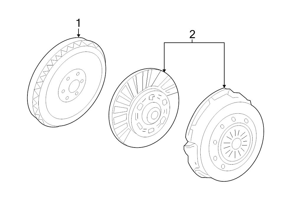 Brand New Genuine Ford Oem Clutch Pressure Plate And Disc Set