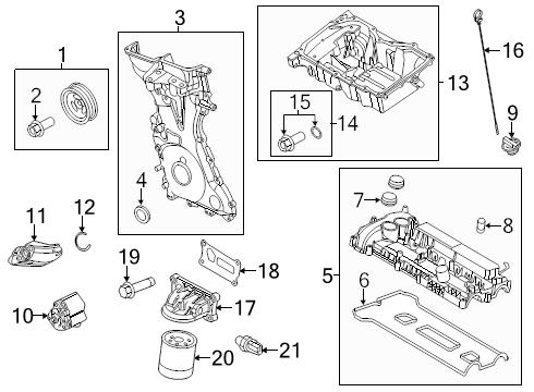 BRAND-NEW-GENUINE-FORD-OEM-ENGINE-OIL-PUMP-F2GZ6600A thumbnail 7