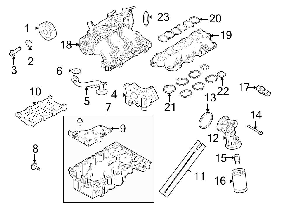 Brand New Genuine Ford Oem Engine Intake Manifold Gasket 7t4z9439e. Identifed In Schematic If Applicable 21. Ford. 2008 Ford Edge Intake Schematic At Scoala.co