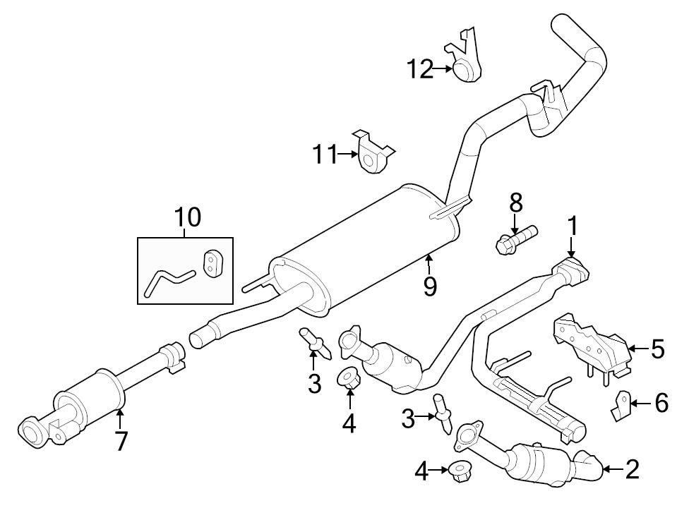 1993 Ford F150 Catalytic Converter