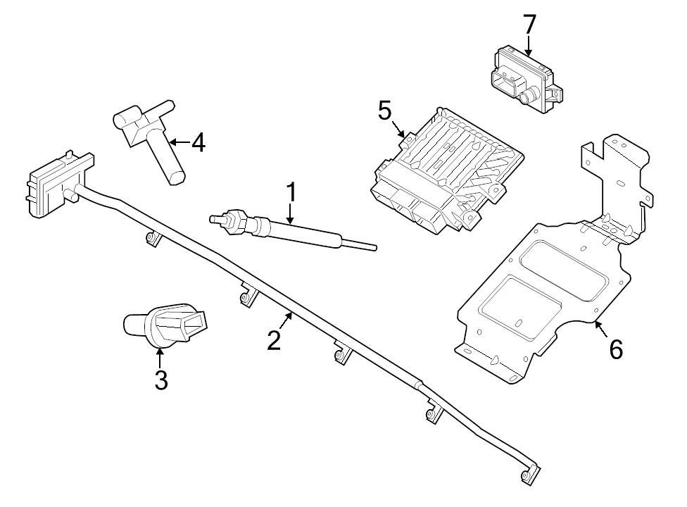 Buy Ford Oem Engine Camshaft Position Sensor 6c1z6b288a Image 3