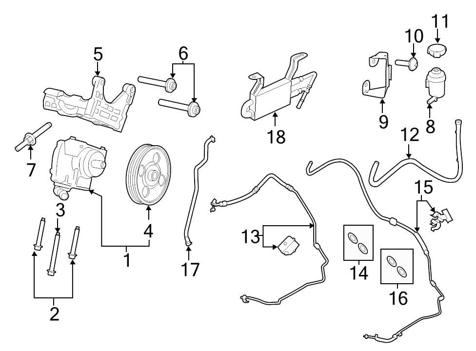 Ford Transit Power Steering Diagram
