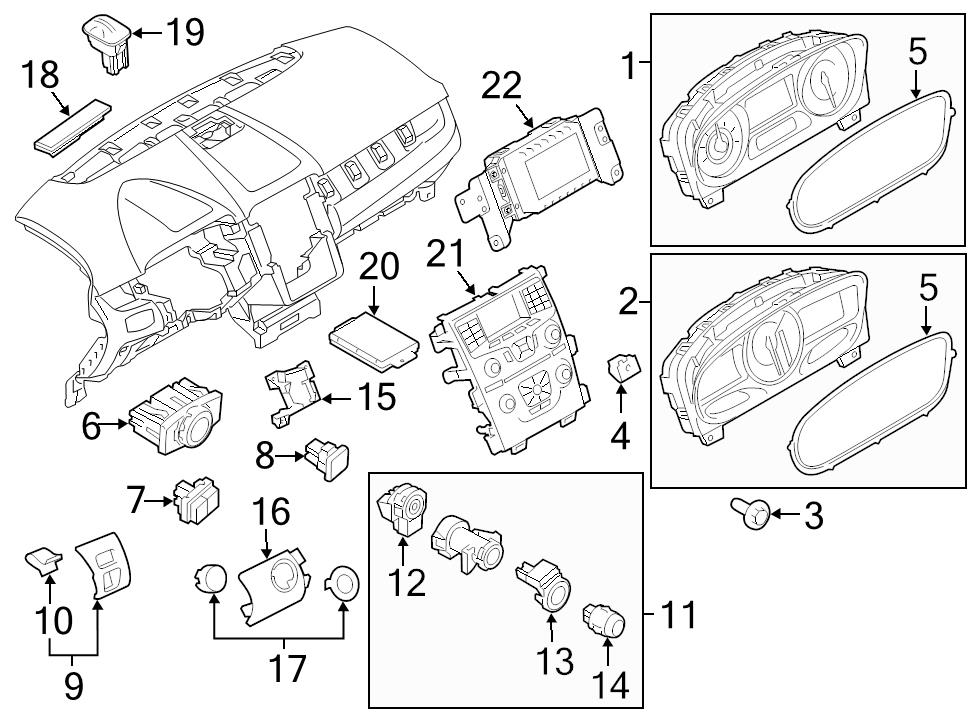 ford focus ac drain diagram